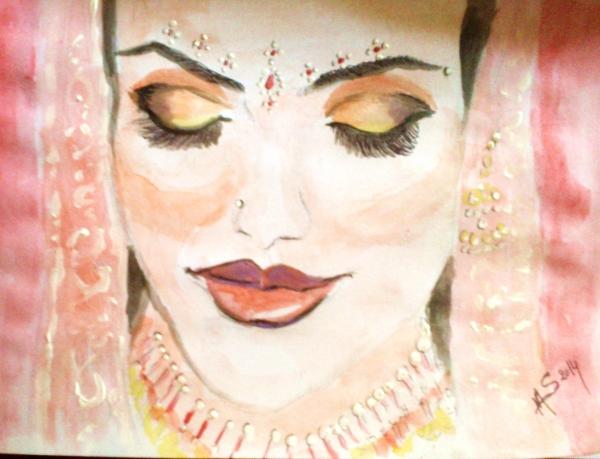 Madhuri Dixit by noisette